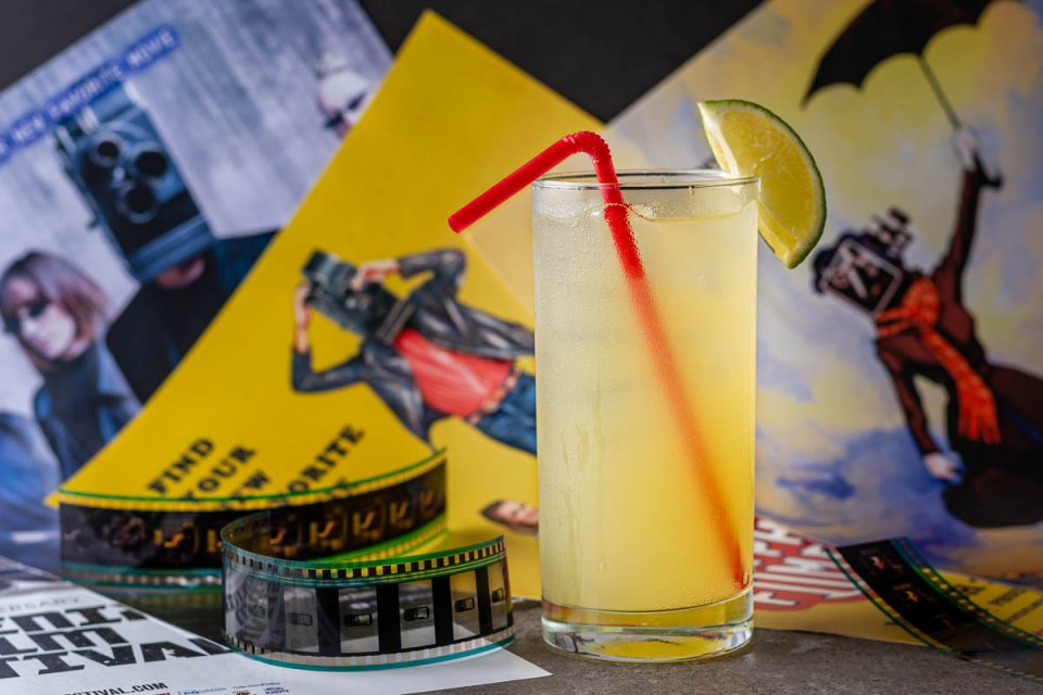 The Geeks are celebrating the Phoenix Film Festival by creating a signature cocktail for the event, The Intermission. 2geekswhoeat.com #PFF2021 #Cocktails #VodkaCocktails #HomeBar
