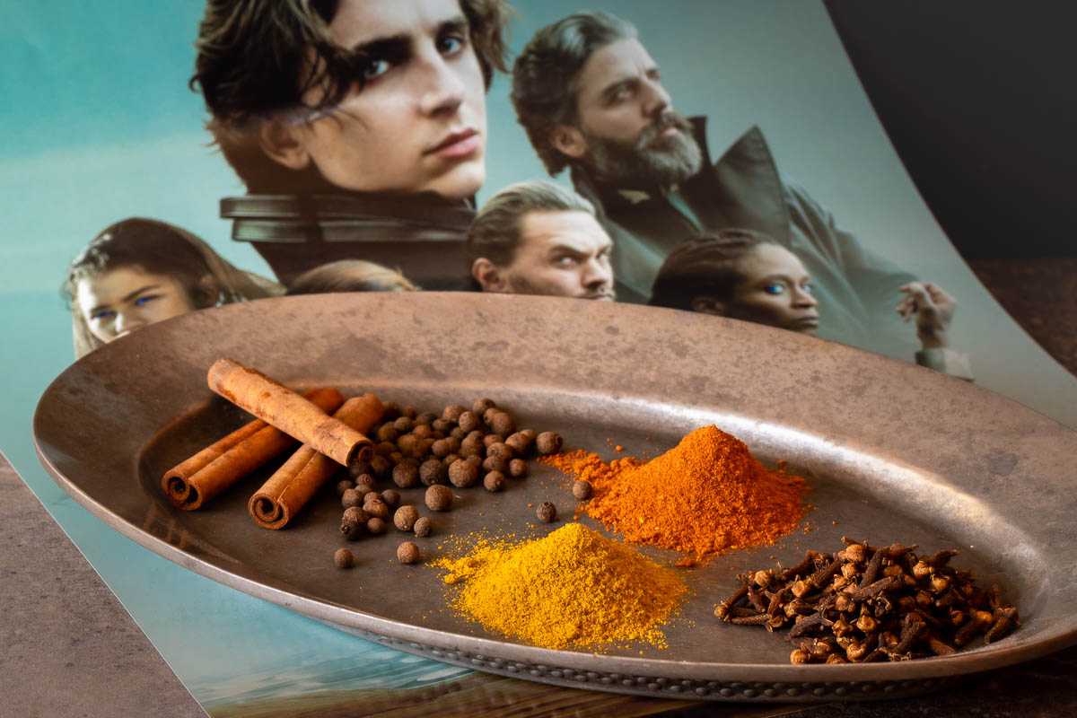 To get ready for the release of Dune, The Geeks have put together The Geeks' Guide to Spice discussing the use of spice and where to find it. 2geekswhoeat.com #Dune #Spice #HowTo #HomeCooking #DIY